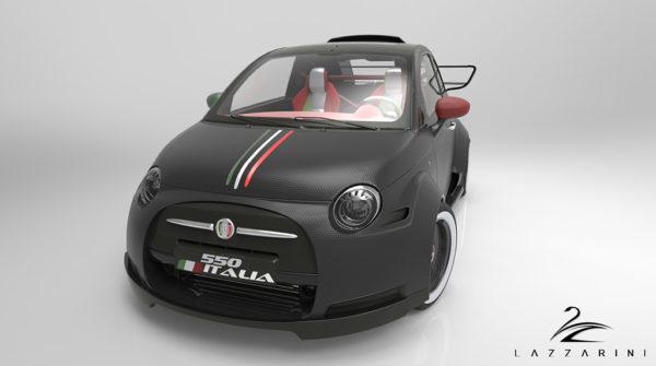 V8 powered Fiat 550 Prototipo Uno (5)