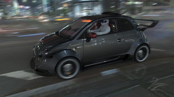 V8 powered Fiat 550 Prototipo Uno (8)