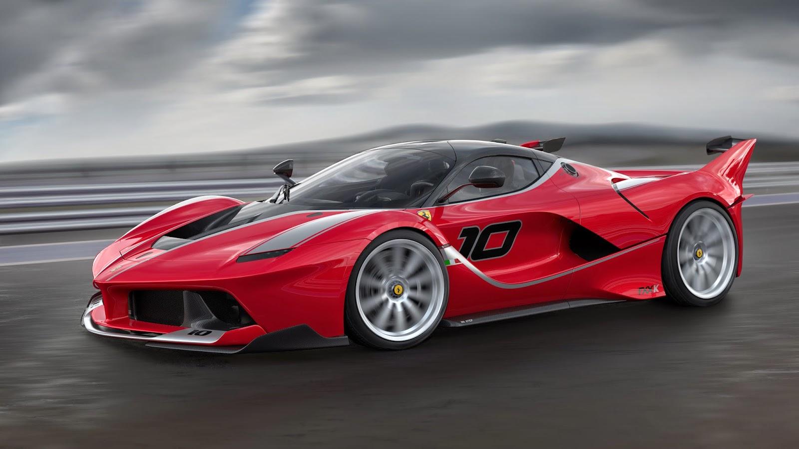 Ferrari Fxx K Sketch 3 Motoroids Com