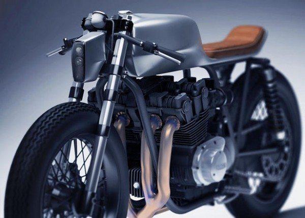 Honda CB1100 Concept by Dimitri Bez (2)