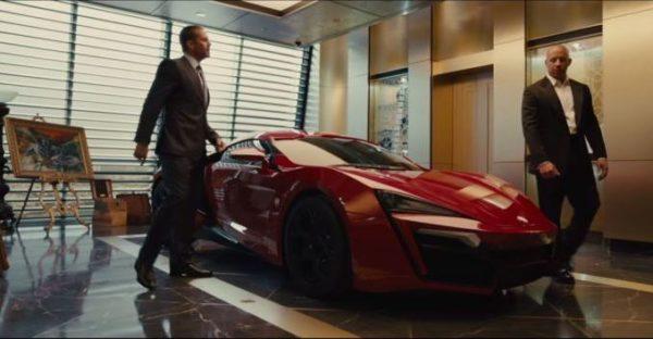 Furious 7 Lykan Hypersport