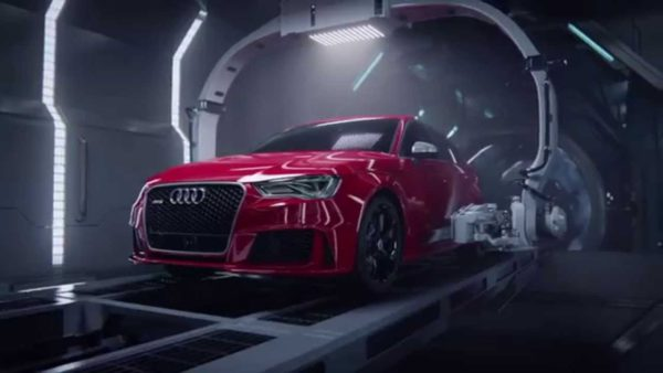 2016 Audi RS3 advertisement