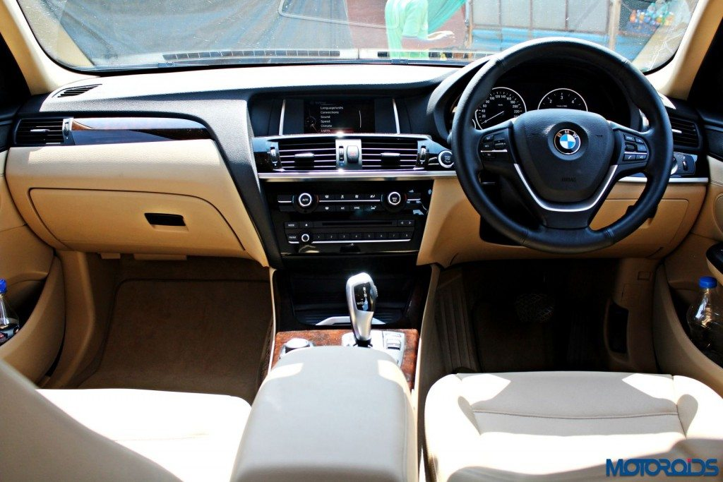 new 2015 BMW X3 interior (4)