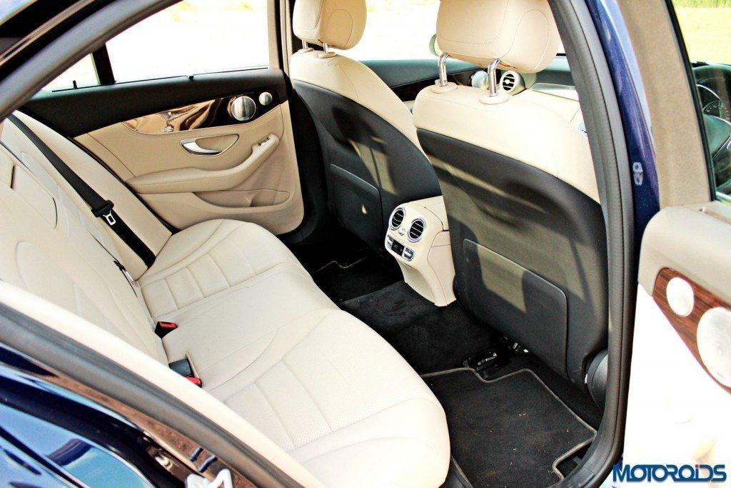 new 2015 C Class rear seat