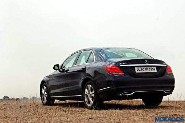new 2015 Mercedes C Class rear (2)