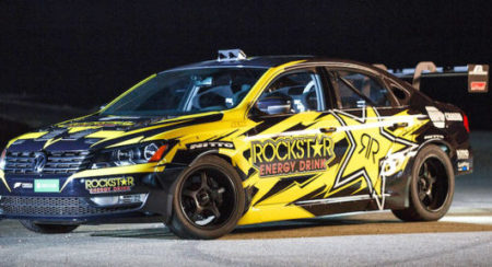Meet Tanner Foust's utterly bonkers V8-powered 900hp VW Passat drift car