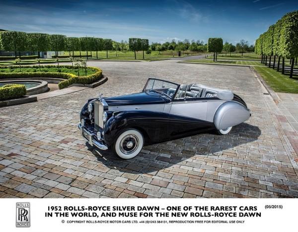 1952 Rolls-Royce Dawn