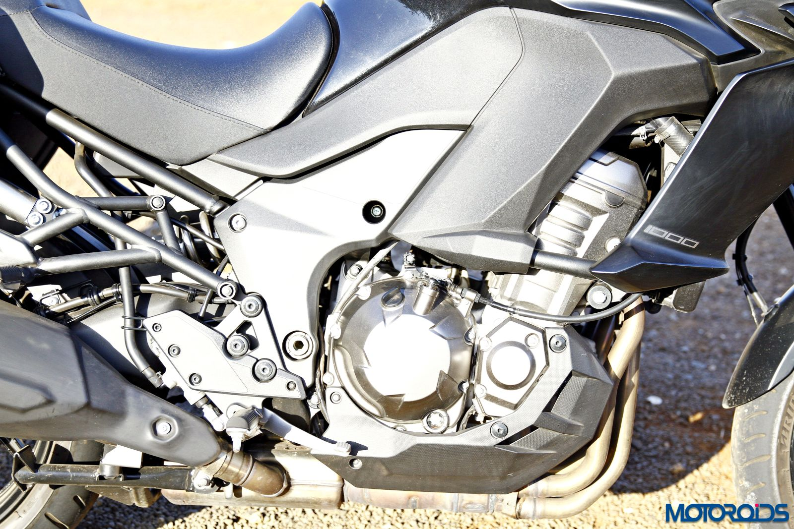 2015 Kawasaki Versys 1000 engine
