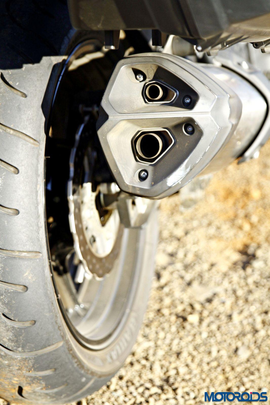 2015 Kawasaki Versys 1000 exhaust