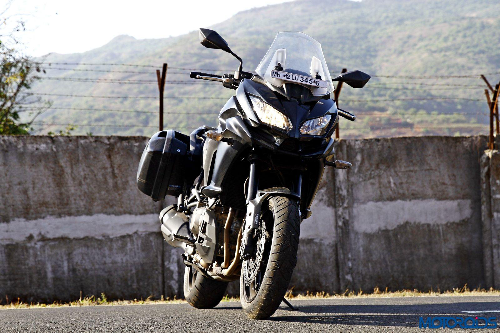2015 Kawasaki Versys 1000 front