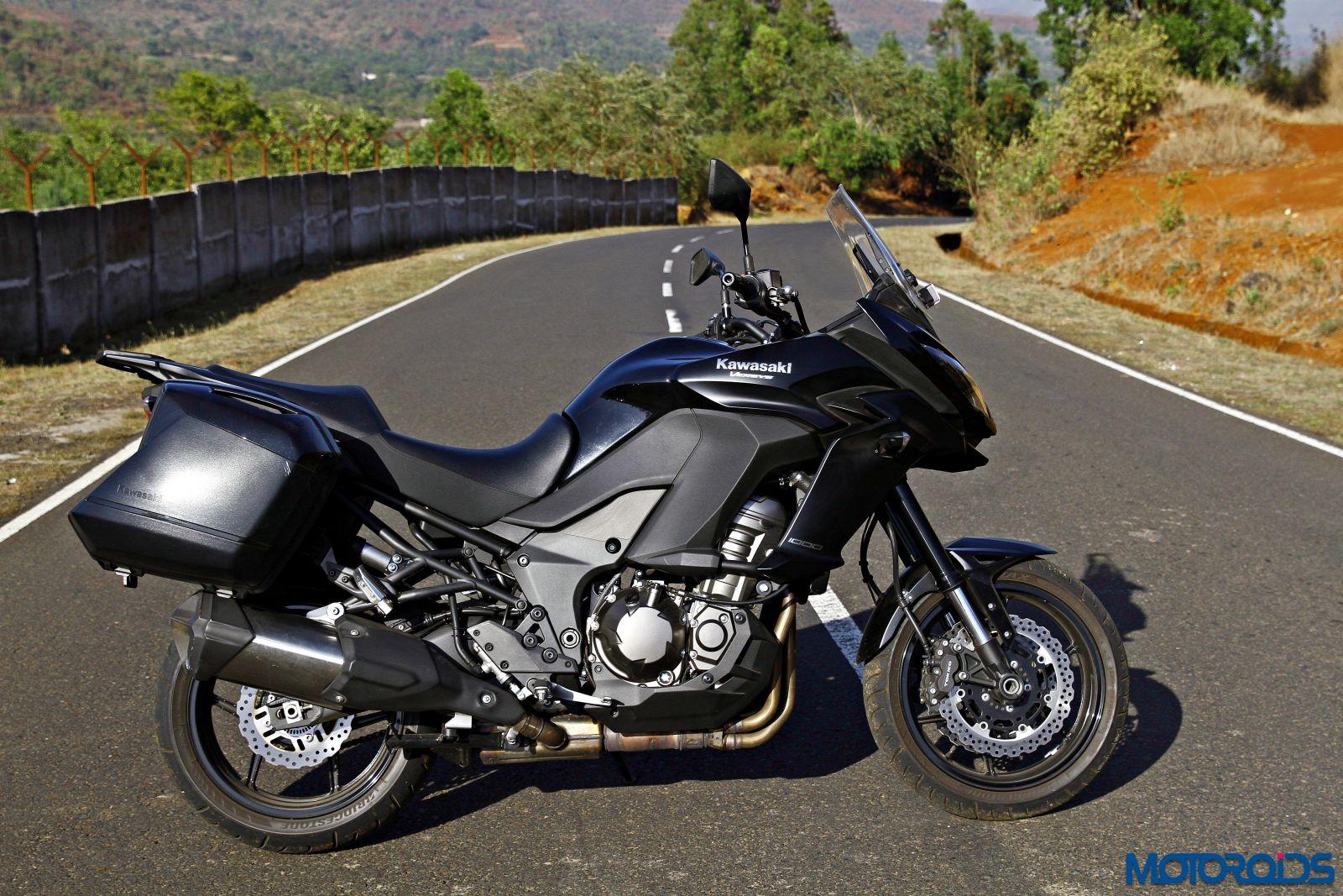 2015 Kawasaki Versys 1000 right side view