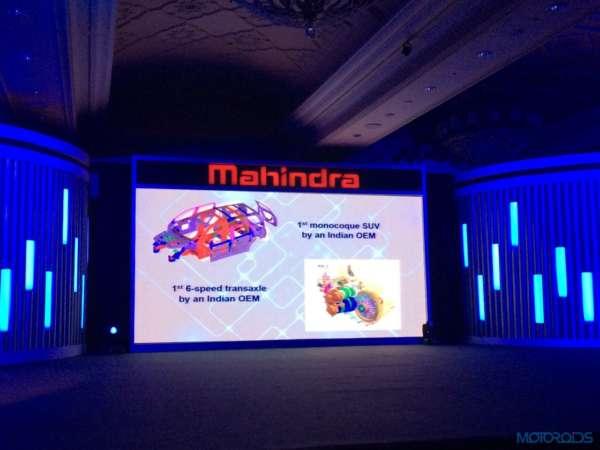 2015 Mahindra XUV500 launch