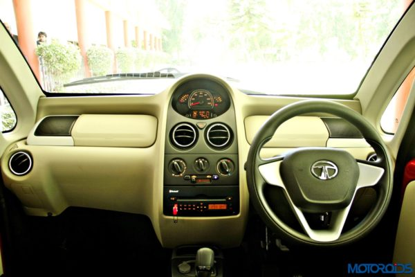 2015 Tata Nano GenX Dashboard Latte finish