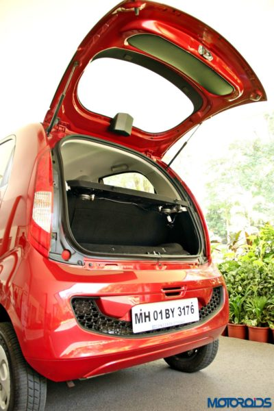 2015 Tata Nano GenX Rear hatch