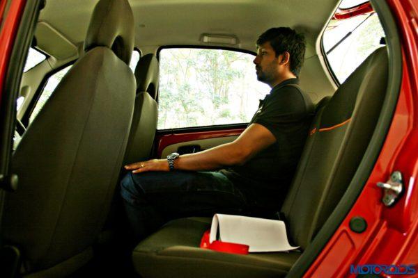2015 Tata Nano GenX rear seat (2)