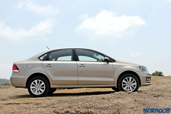 2015 Volkswagen Vento side profile(11)