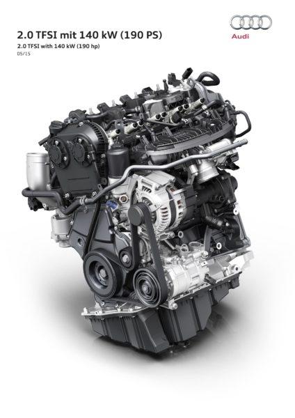 2016 Audi 2. liter TFSI