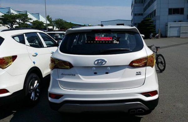 2016 Hyundai Santa Fe leaked images (4)