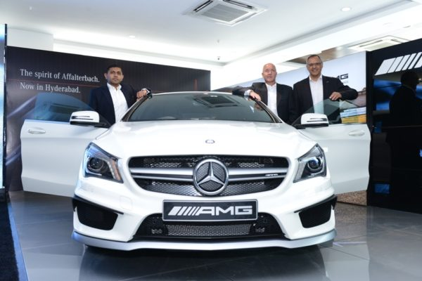 AMG Performance Centre in Hyderabad Pune