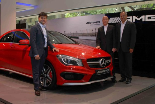 AMG Performance Centre launch in Pune (1)
