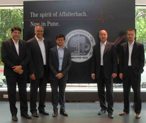 AMG Performance Centre launch in Pune (2)