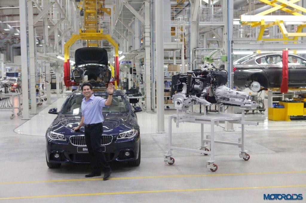 BMW Chennai plant sachin localization (4)