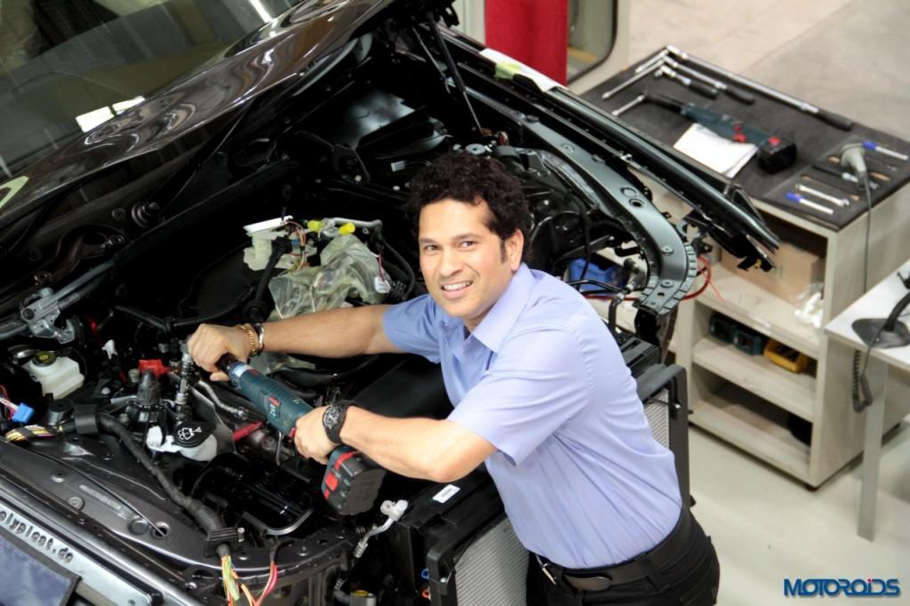 BMW Chennai plant sachin localization (5)