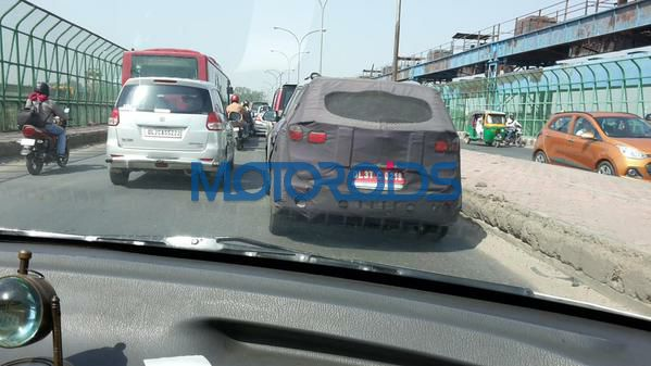 Chevrolet Trailblazer Spied (1)