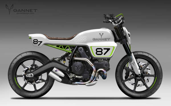 Custom Ducati Scrambler by Gannet Design (3)