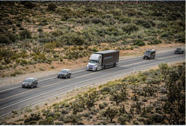 Daimler Trucks drives first autonomous truck on public roads (3)