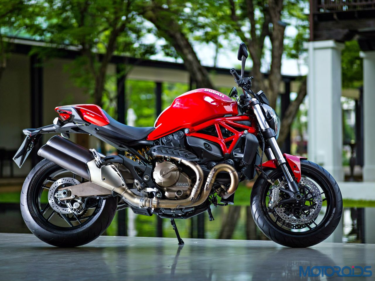 ducati monster 821 review middleweight machismo motoroids. Black Bedroom Furniture Sets. Home Design Ideas