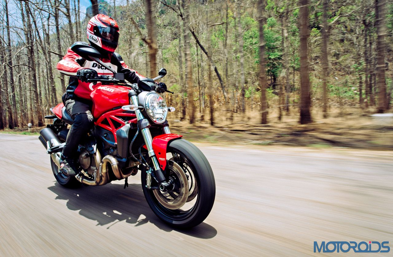 Ducati monster 821 review middleweight machismo motoroids