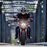 Ducati Monster 821 Review - Action Shots (7)