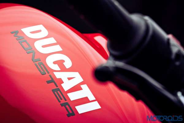 Ducati Monster 821 Review - Details - Ducati Logo