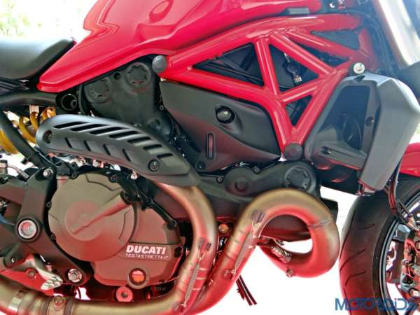 Ducati Monster 821 Review - Details - Frame and Engine