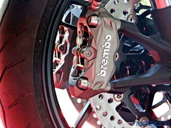 Ducati Monster 821 Review - Details - Front Brake