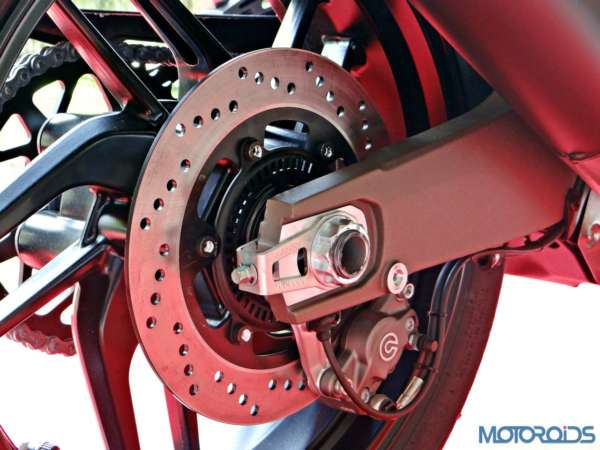 Ducati Monster 821 Review - Details - Rear Brake