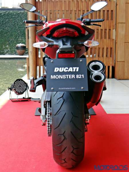 Ducati Monster 821 Review - Details - Rear View