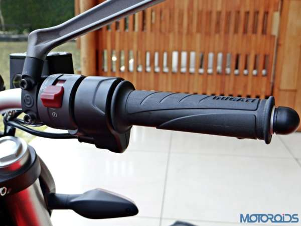 Ducati Monster 821 Review - Details - Switchgear - Right Side 1