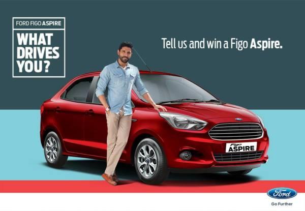 Farhan Akhtar - Ford Figo Aspire - Official Image