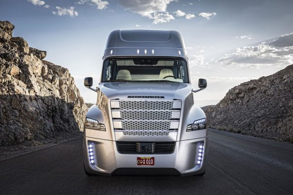 Freightliner Inspiration front view