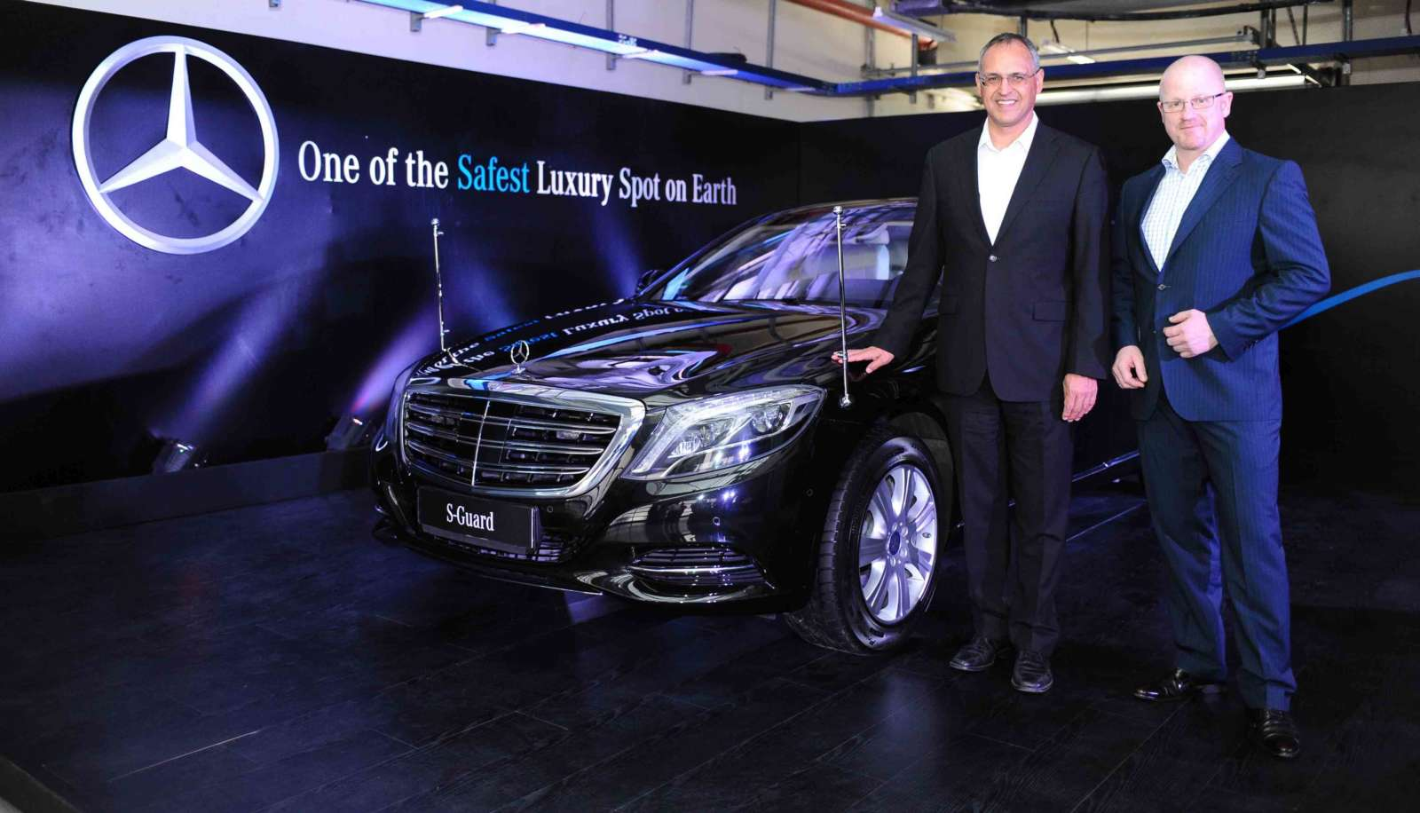 Mercedes benz s guard launched in india priced at inr 8 9 for Mercedes benz salesman
