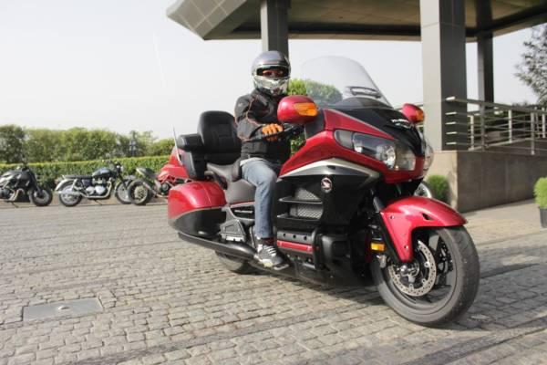 Honda Gold Wing - Congratulatory Ride (1)
