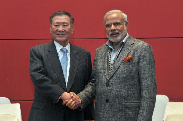 Hyundai Motor Group Chairman Meets Prime Minister Narendra Modi - 1