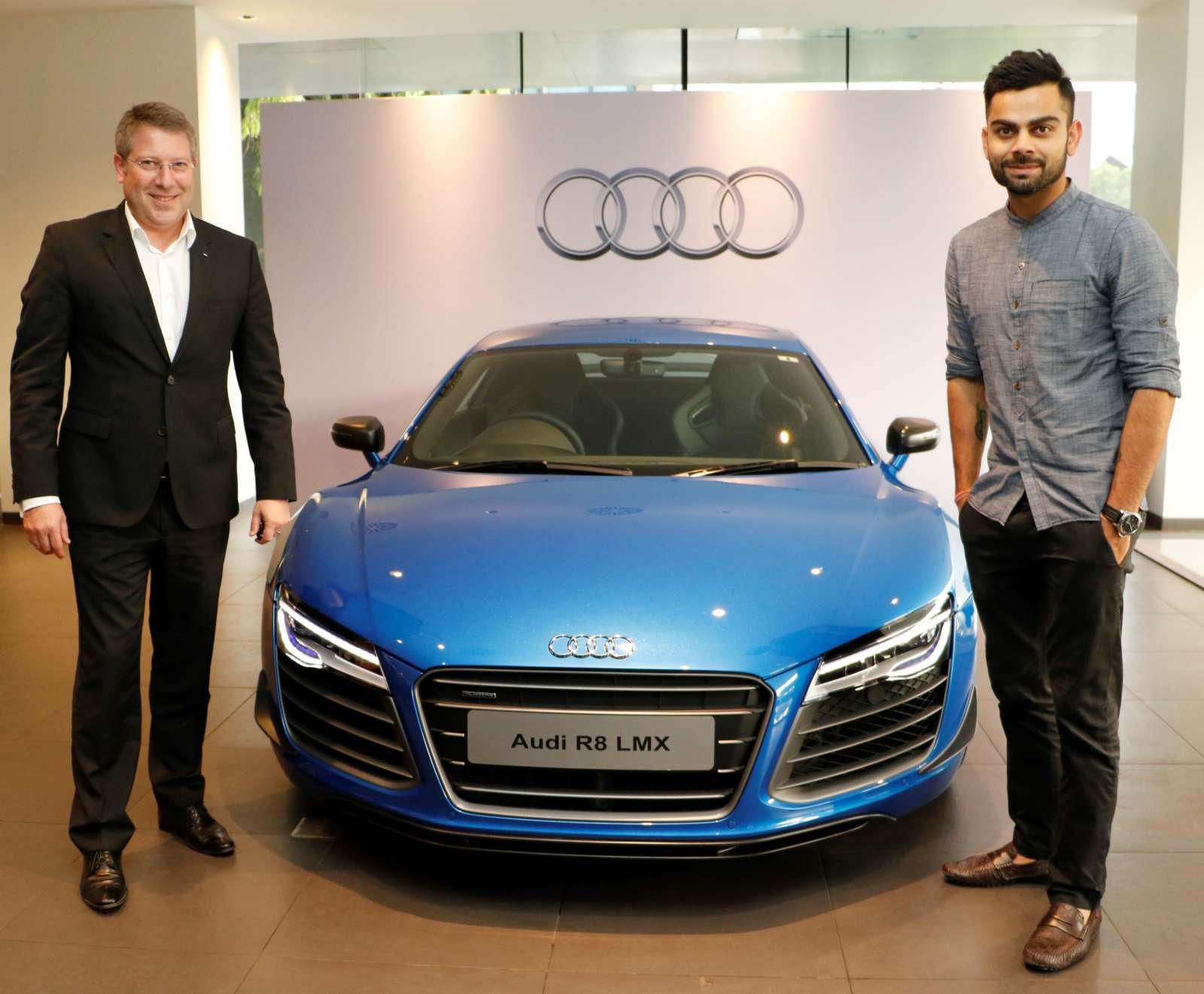 Virat Kohli Gets Himself An Audi R8 Lmx 1 Of 99 Ever Made
