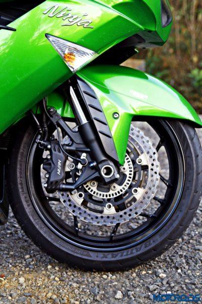 Kawasaki Ninja ZX-14r front disc brake(4)