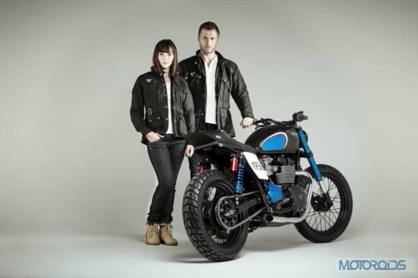 LD - Triumph - Barbour - 0121
