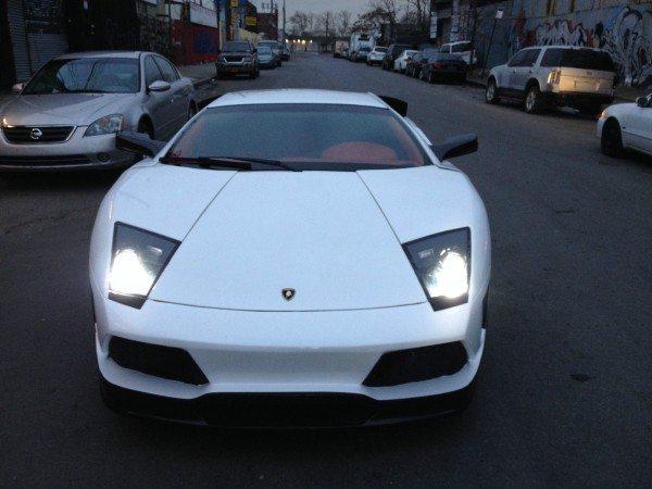 Lamborghini Murcielago replica front