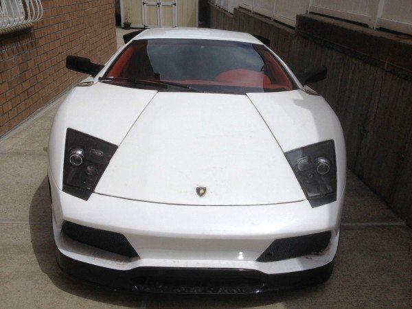 Lamborghini Murcielago replica front view