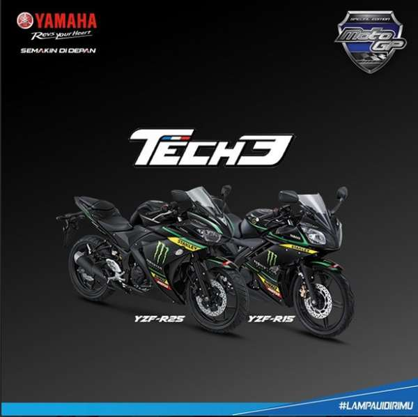 Limited Edition Yamaha YZF-R15 and YZF-R25 - 2
